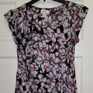 ANN TAYLOR LOFT sleeveless blouse